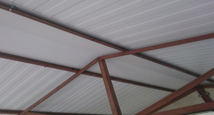 Complete service with replacement rafters